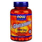 Now Foods, L-Glutamin, Double Strength, 1000mg, 120 Kapseln