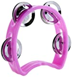 D'Luca TW-4PK 4-Inch Child's Tambourine, Pink