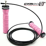[Profi Springseil] Speed Rope Gymbox® mit Kugellager Anti-Rutsch Griffe Seil-chen Springen HIIT Training Workout