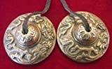 BEAUTIFUL TIBETAN BUDDHIST HEART CHAKRA TINGSHA CYMBALS REIK,I SPACE CLEARING...