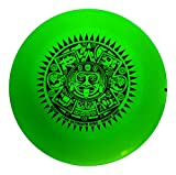 ThankU Ultimate Frisbee Fliegende Sport Disc 175 Gramm Night Glow mit Kordeltasche