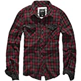 Brandit Checkshirt Duncan Red-Brown L