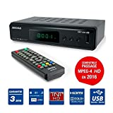 Decoder TNT Recorder, Player, Multimedia, TV, Scart, HDMI, USB