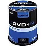 Intenso DVD+R 16x Speed 4,7GB (100er Spindel DVD+Rohlinge)