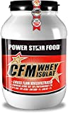 100% CFM WHEY ISOLAT Pulver - Bestseller Molkenprotein-Isolat - Whey Protein mit 93% (97% i.Tr.) Proteingehalt von höchster Qualitätsstufe durch cross flow microfiltrated MADE IN GERMANY (Schoko, 1000 g Dose)