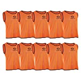 Optimum Trainingstrikots (10er-Packung), unisex, Training, Orange