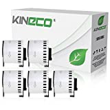 5x Endlos-Etikett kompatibel zu Brother DK22205 62mm x 30,48m P-Touch QL-1050 1060N 500 550 560 570 580 700 500 A BS BW 560 VP YX 580N 650TD 710W 720NW