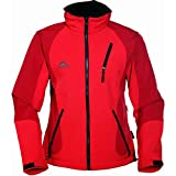 COX SWAIN TITANIUM 3-Lagen Damen Softshell Jacke FOREST - 15.000mm Wassersäule 10.000mm atmungsaktiv, Colour: Red, Size: M