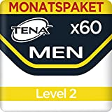 Tena  Men Light Level 2 Monats-Paket 60 Einlagen (6 Packungen x10 Einlagen), 1er Pack (1 x 60 )