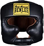 BENLEE Rocky Marciano Full Face Protection Kopfschutz, Black, S