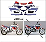 Kit adesivi decal stikers HONDA XRV AFRICA TWIN RD 04 750 1990 MOD.A HRC COLORATION (ability to customize the colors)