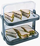 APS CB794 Double Decker Rolle Top Cool Display Tabletts