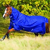 Horseware Regendecke Amigo Hero 6 Plus 145cm 200g Füllung Atlantic Blue / Atlantic Blue & Ivory