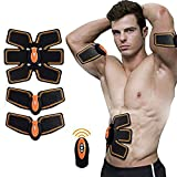 Yukefeng Muscle Toner Fitness System Body Massager/Unisex Muskel Stimulation Body Muskelaufbau System ABS Training Fitness Body fit für Arm/Bauch
