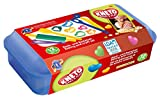 Feuchtmann Spielwaren 6219045 - Kneto Bake and Play Knet- und Backset in Vorratsbox, 13-teilig