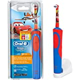 Braun Oral-B Stages Power AdvancePower Kids 900TX elektrische Akku-Zahnbürste Kinder 3+ (D12.513.K) Disney CARS + Timer