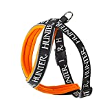 Hunter 62135 Geschirr Neopren Oakland, 80, Nylon, Neopren, reflektierend, schwarz/orange