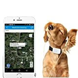 TKSTAR Haustier Hunde Katze Pet GPS Tracker WIFI Real Time Tracking & Activity Monitor Tracker Kostenlose Online App tk911 schwarz