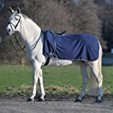 WALDHAUSEN Fleece Nierendecke Economic, marine, Pony, marine, Pony