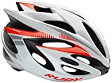 Rudy Project Rush Helmet White-Red Fluo (Shiny) Kopfumfang 54-58 cm 2017 mountainbike helm downhill