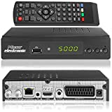Micro Electronics m380 Plus Full HDTV digitaler Satelliten-Receiver (HDTV, DVB-S2, HDMI, SCART, LAN, USB 2.0, Full HD 1080p) [vorprogrammiert] - schwarz