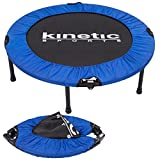 Fitness Trampolin Kinetic Sports Indoor Tramplolin Home Trampolin Minitrampolin, Durchmesser 96 cm faltbar