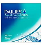 Dailies AquaComfort Plus Tageslinsen weich, 180 Stück / BC 8.7 mm / DIA 14 / -2.5 Dioptrien