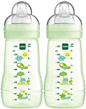 MAM 99957420 - Easy Active Baby Bottle 270 ml, Babyflasche, Doppelpack grün