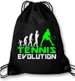 EZYshirt® Tennis Evolution Turnbeutel