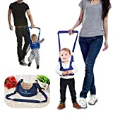 JJOnlineStore – Babywalker Baby Kleinkind Parenting Walking Assistant Schutz Gürtel Carry Trooper Walking Geschirr lernen Assistant Walk Sicherheit Zügel Geschirr Flügel Gürtel – Blau