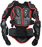 Motorrad-Teile Full Body Schutzjacke Spine Chest Getriebe Rüstung Off Road Racing Motorcross Schutzbekleidung Rot Größe M Fit For Victory Cross Roads Jackpot