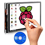 Kuman 3.5 inch 320*480 Resolution Touch Screen TFT LCD Display Module SPI Interface with Touch Pen for Raspberry-pi 2 Model B/B+ 2B SC06 (SC06)