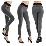 Faryan Damen Sport Leggings Yoga Active Running Hosen fitness Hosen Jogginghose