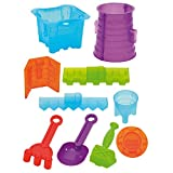 Eduplay Sandformen-Set Castle, 11 teilig