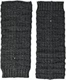 Tommy Hilfiger Damen Stulpen TH Women Ribble Legwarmer 1P Grau (Anthracite Melange 030), One Size