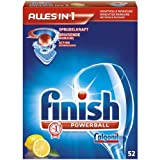 Calgonit Finish Powerball Alles in 1 Tabs, Citrus, 1er Pack (1 x 52 Tabs)