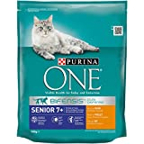 One Senior 7+  Katzenfutter Huhn, 8er Pack (8 x 800 g)