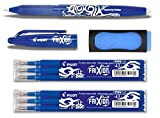 1 Frixion Ball blau + 6er-Set Mine + Radierer