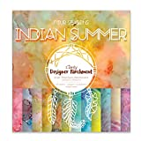 Claritystamp Klarheit Designer Pergament: Indian Summer