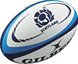 Gilbert Mini Rugby-Ball, Scotland International Replik Weiß weiß Mini - Scotland