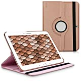 kwmobile Hülle für Samsung Galaxy Tab 3 10.1 - 360° Standfunktion Case Tablet Schutzhülle Kunstleder - Smart Cover Tabletcase Rosegold