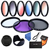 K&F Concept® Slim Objektiv Filter Set 58mm UV CPL FLD 9 teiliges