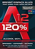 Alcohol 120% Version 12 - Brennen, Kopieren, Sichern - die ultimateive Brennsoftware für Windows 10/8.1/8/7