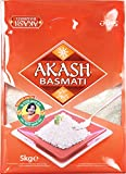 AKASH Basmatireis, 1er Pack (1 x 5 kg Packung)