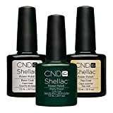 CND Original CND Shellac Pretty Poison plus Base Coat plus Top Coat 7.3 ml, 1er Pack (1 x 22 ml)