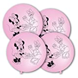 Minnie Maus & Daisy 4 Punchingball Luftballons