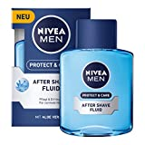 Nivea Men Protect & Care After Shave Fluid für Männer, 3er Pack (3x 100 ml)