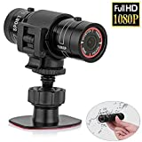 sfun SSC001 Full HD Mini Sports Kamera 1080P Action Wasserdicht Sport Helm Fahrrad Helm Action Video Kamera DVR AVI Video camcorder- unterstützt 32 GB TF-Karte