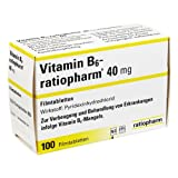 Vitamin B6 Ratiopharm 40 mg Tabletten, 100 St.