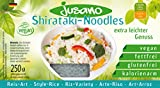 Jusano Shirataki Rice Art, 5er Pack (5 x 250 g)